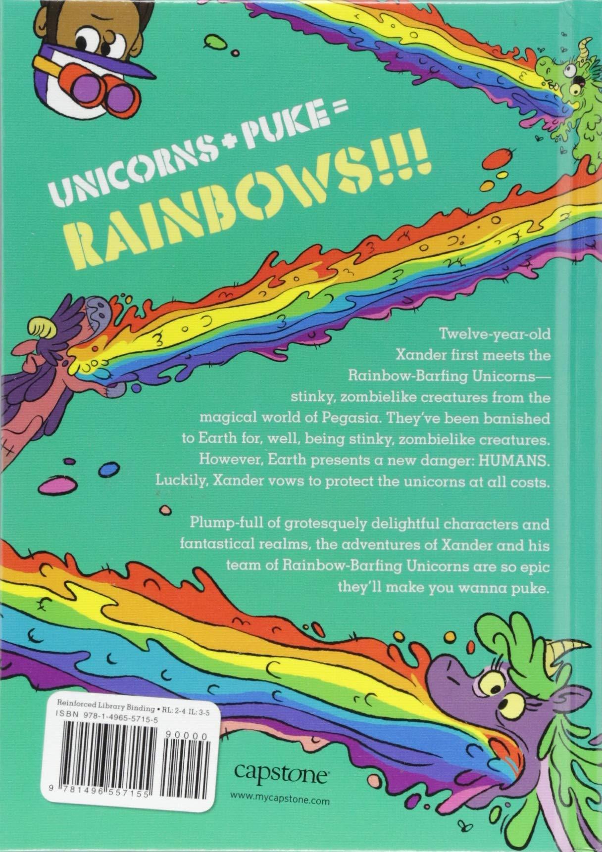 Magic Smells Awful (Xander and the Rainbow-Barfing Unicorns) 4
