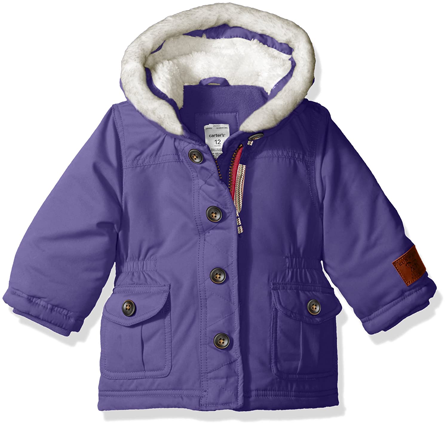 64cbdd090 Amazon.com  Carter s Baby Girls  Infant Heavyweight Fashion Anorak ...
