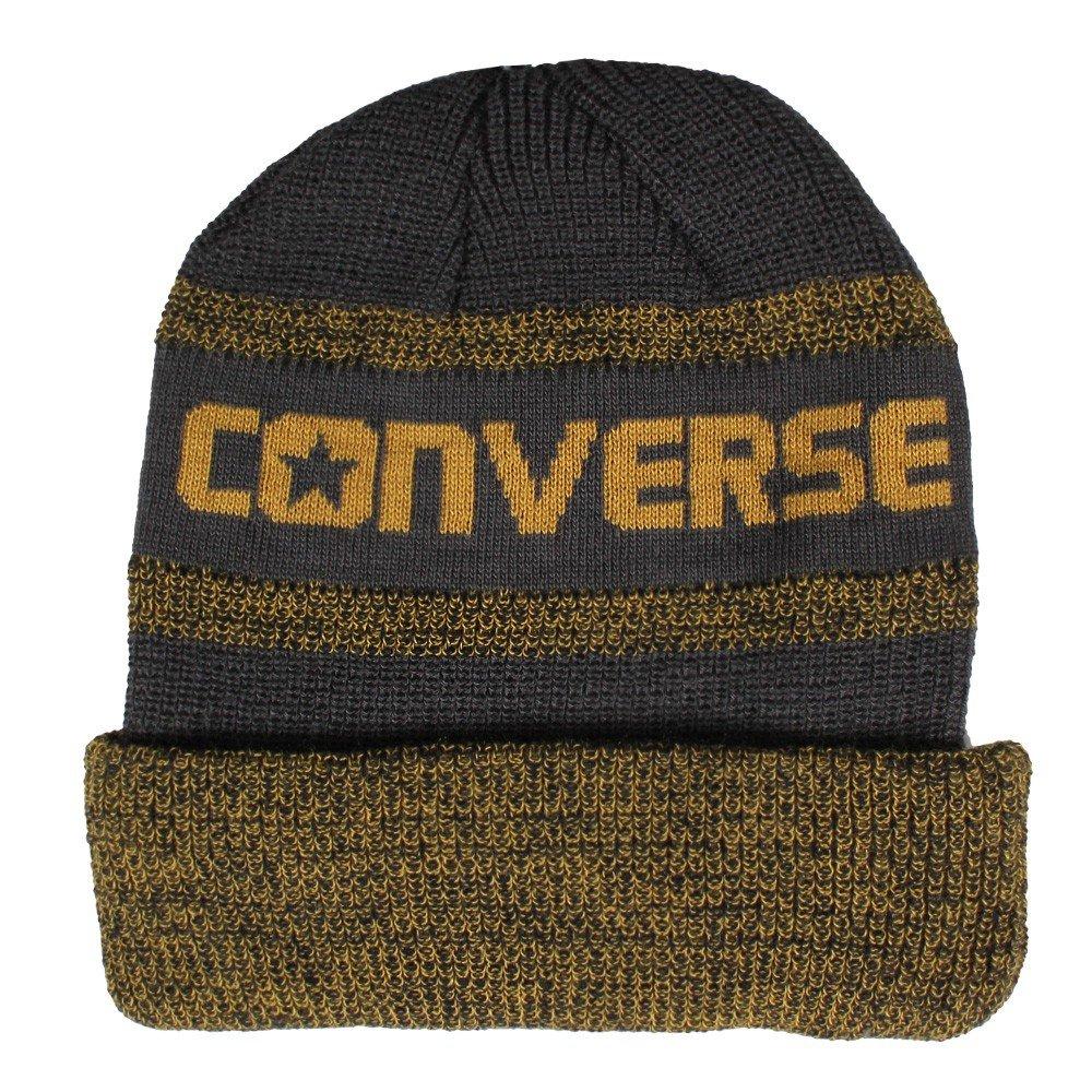 2545e229c558 Converse CTAS Beanie Jacquard Knit Watchcap Shale Grey  Amazon.co.uk   Clothing
