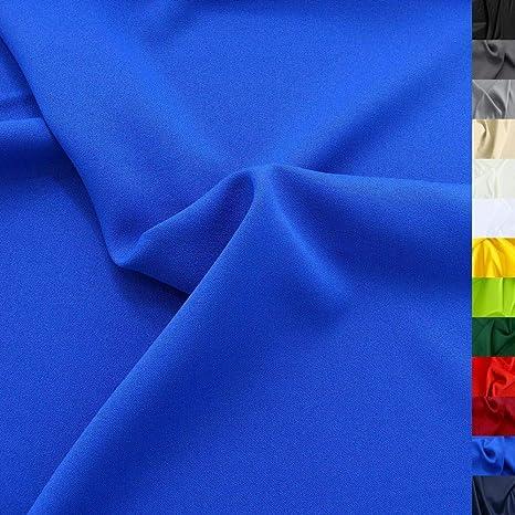Tolko Modestoff Dekostoff Universal Stoff Zum Nähen Dekorieren Blickdicht Knitterarm 150cm Breit Meterware Royal Blau Bekleidungsstoffe Dekostoffe Vorhangstoffe Nähstoffe Basteln Patchwork Deko Küche Haushalt