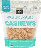 365 Everyday Value, Cashews, Roasted & Unsalted, 8 oz