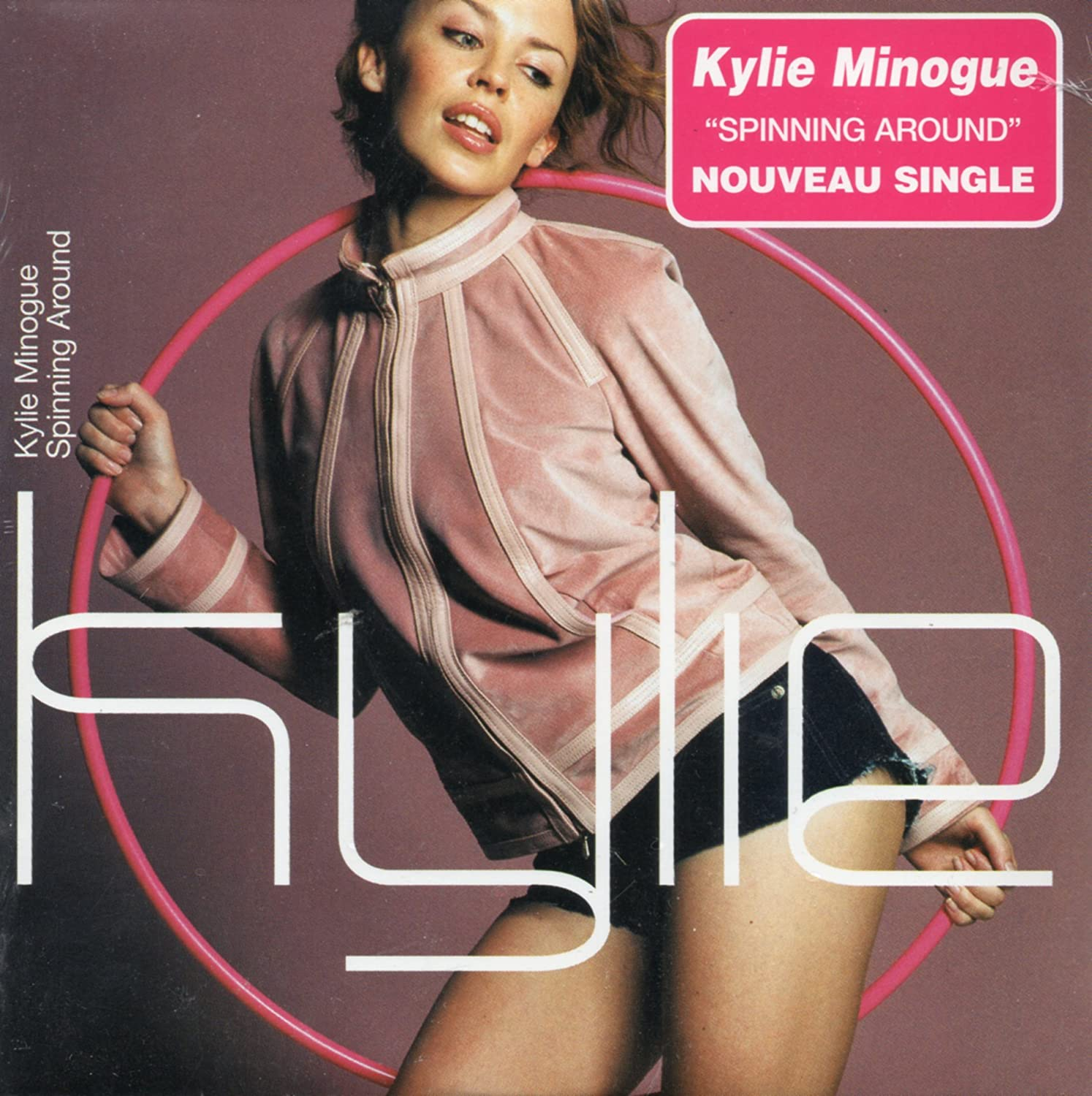 Spinning around 2-track CARD SLEEVE - 1 Cover me with kisses ...