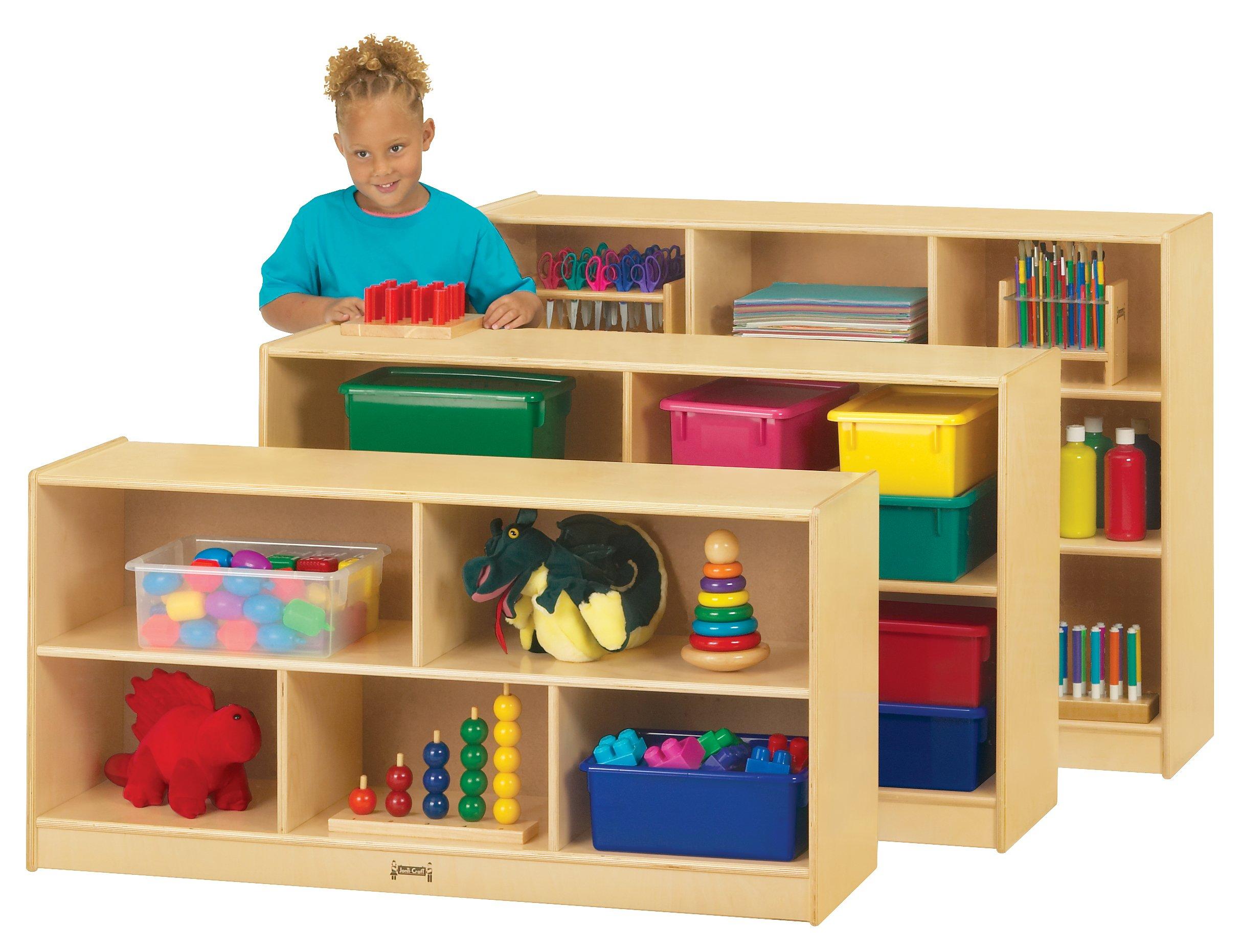 Jonti-Craft 0324JC Toddler Single Mobile Storage Unit