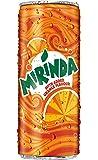 Mirinda Orange Soft Drink - 250ml Can