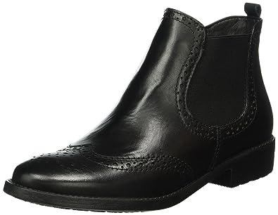 Tamaris 25493, Bottes Chelsea Femme, Noir (Black Leather), 42 EU