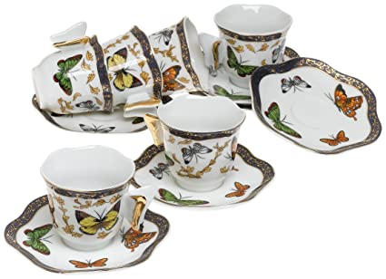 Amazon.com | Yedi Houseware Classic Coffee and Tea Butterfly ...
