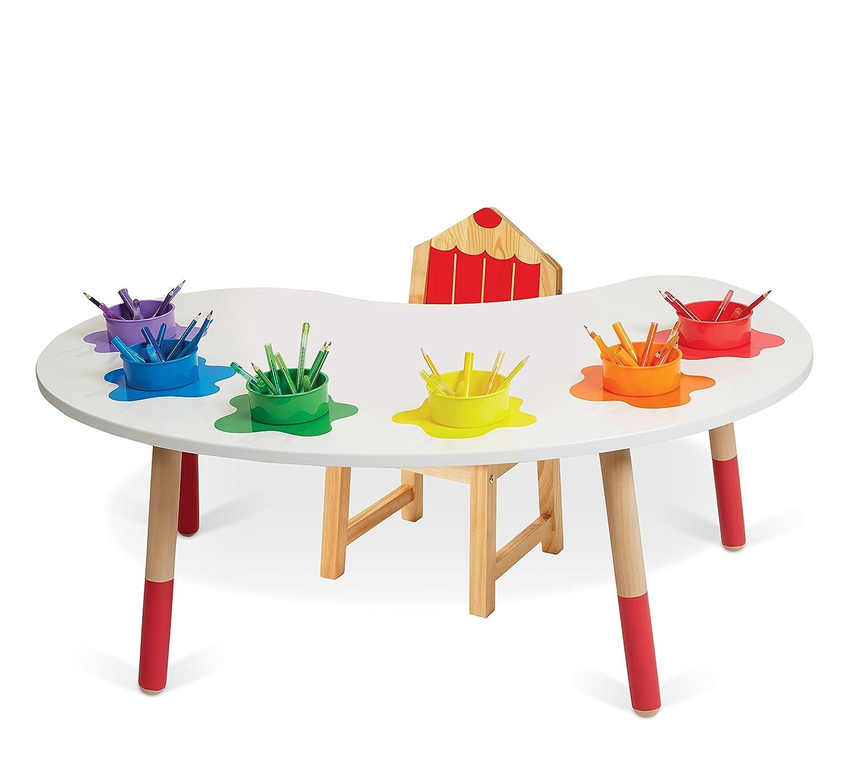 Marvelous Alex Toys Artist Studio Color Fun Palette Desk Chair Theyellowbook Wood Chair Design Ideas Theyellowbookinfo
