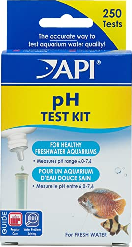 API pH test kit for freshwater