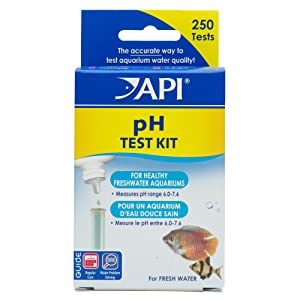 API pH test kit for freshwater aquarium