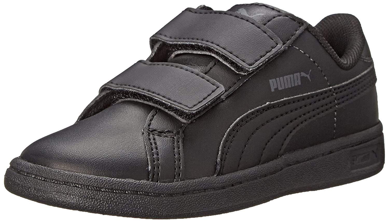 b72713ab4dc64 PUMA Smash Leather V Kids Sneaker (Infant/Toddler/Little Kid)