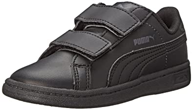 8f5dbf63bded Amazon.com  PUMA Smash Leather V Kids Sneaker (Infant Toddler Little ...