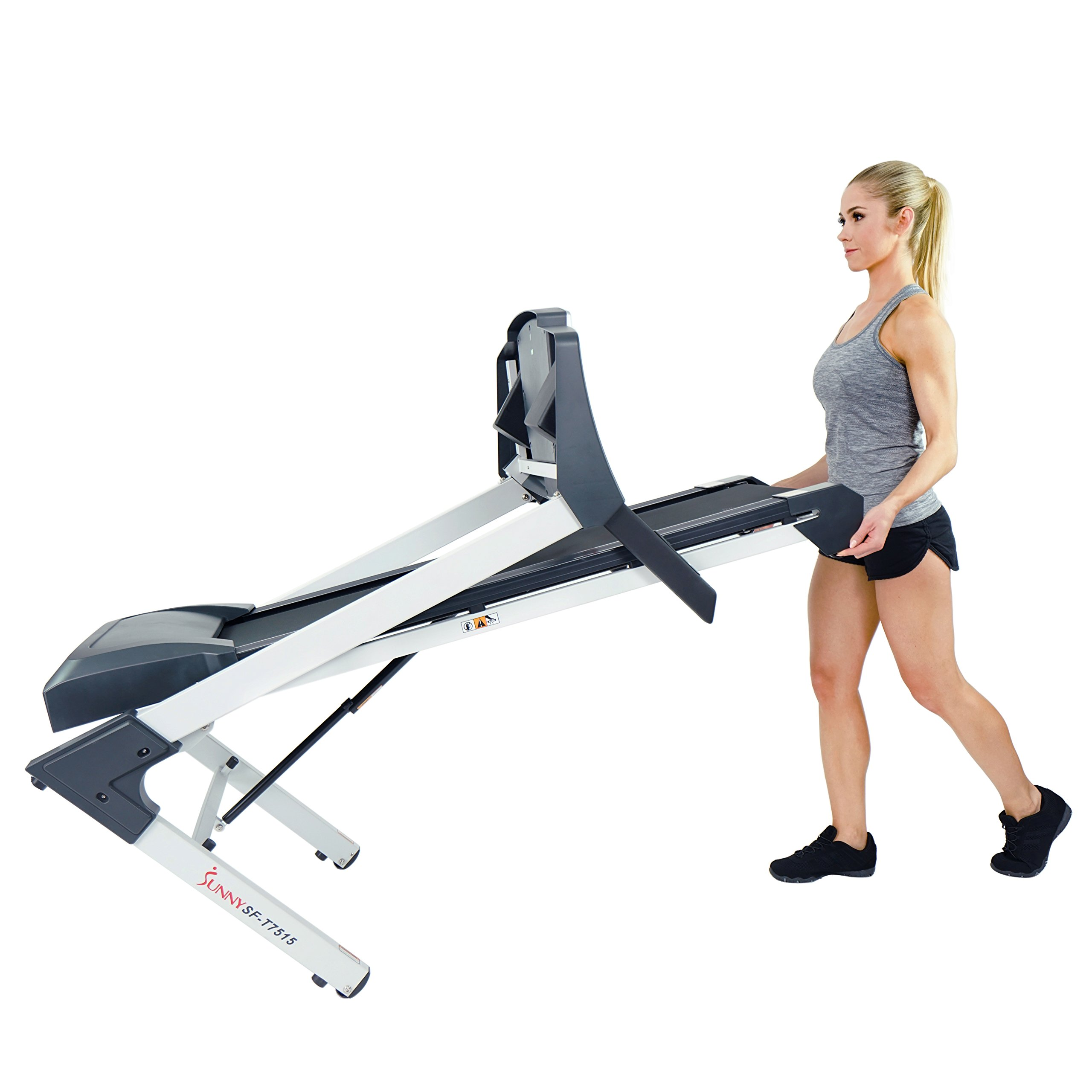 Sunny Health & Fitness SF-T7515 Smart Treadmill with Auto Incline, Bluetooth and BMI Calculator by Sunny Health & Fitness (Image #15)