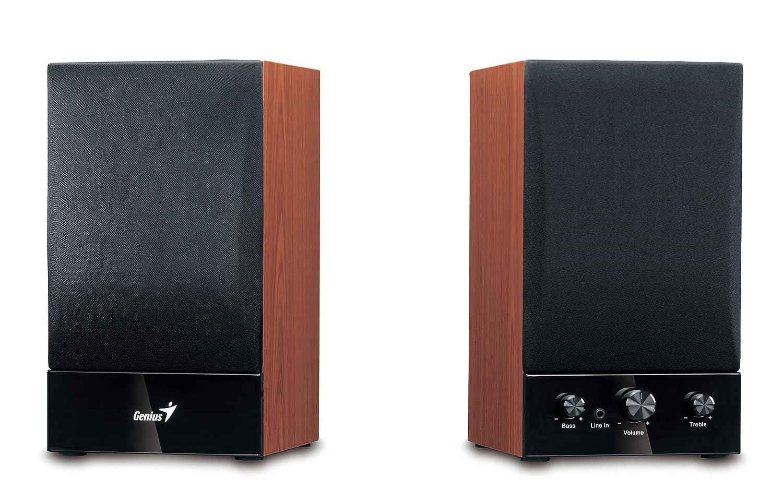 Genius SP-HF 1250B Enceintes PC / Stations MP3 RMS 20 W   B00AY9ZZTI