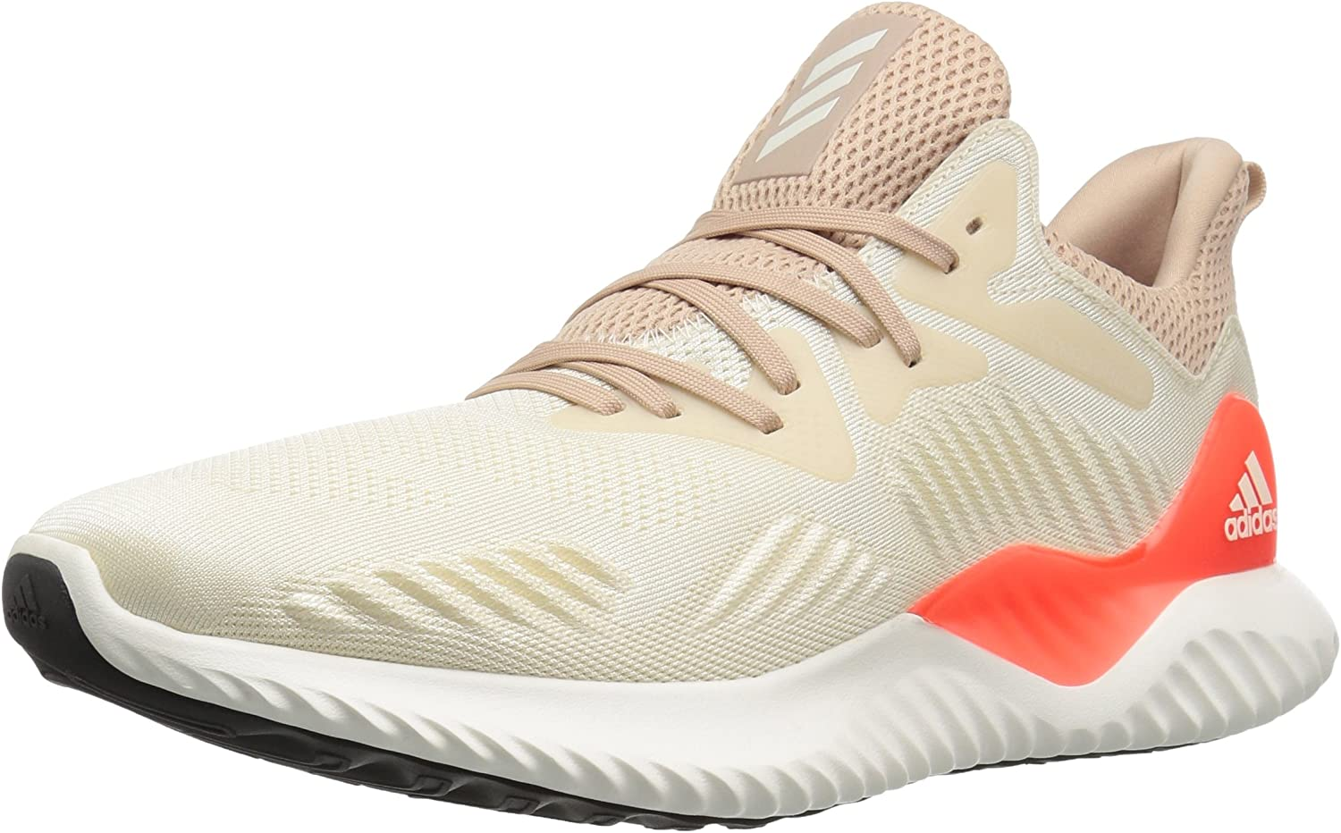 adidas Alphabounce 2 m, Linen Chalk White Ash Pearl, 10 Medium US