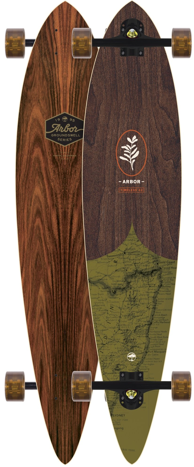 Arbor Timeless 42 Groundwell Longboard Complete New 2018