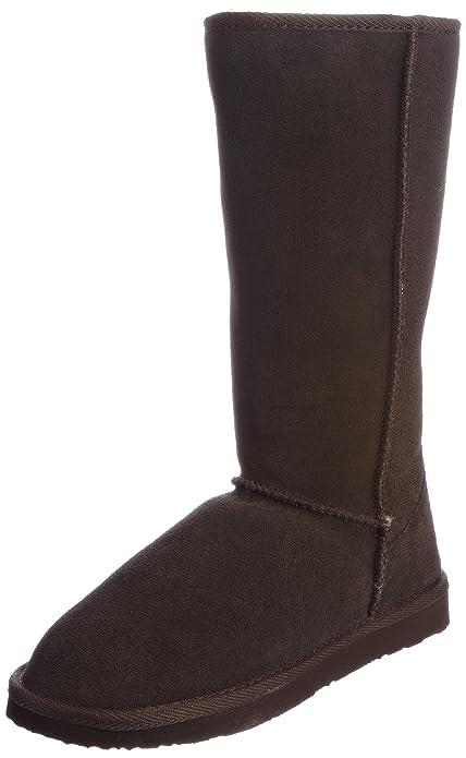 cfdc165515 Ukala Women's Sydney High Boots Chocolate 3 UK: Amazon.co.uk: Shoes ...