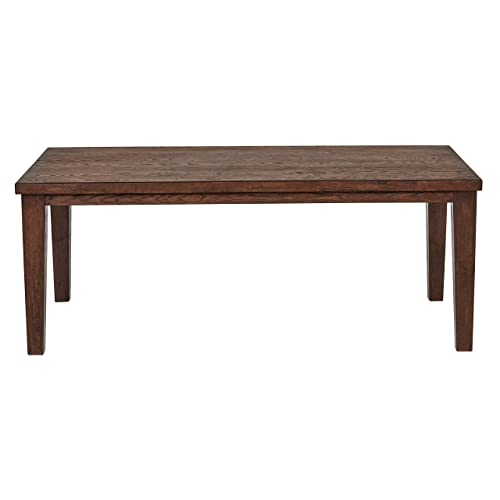 Stone Beam Dunbar Modern Wood Dining Room Kitchen Table