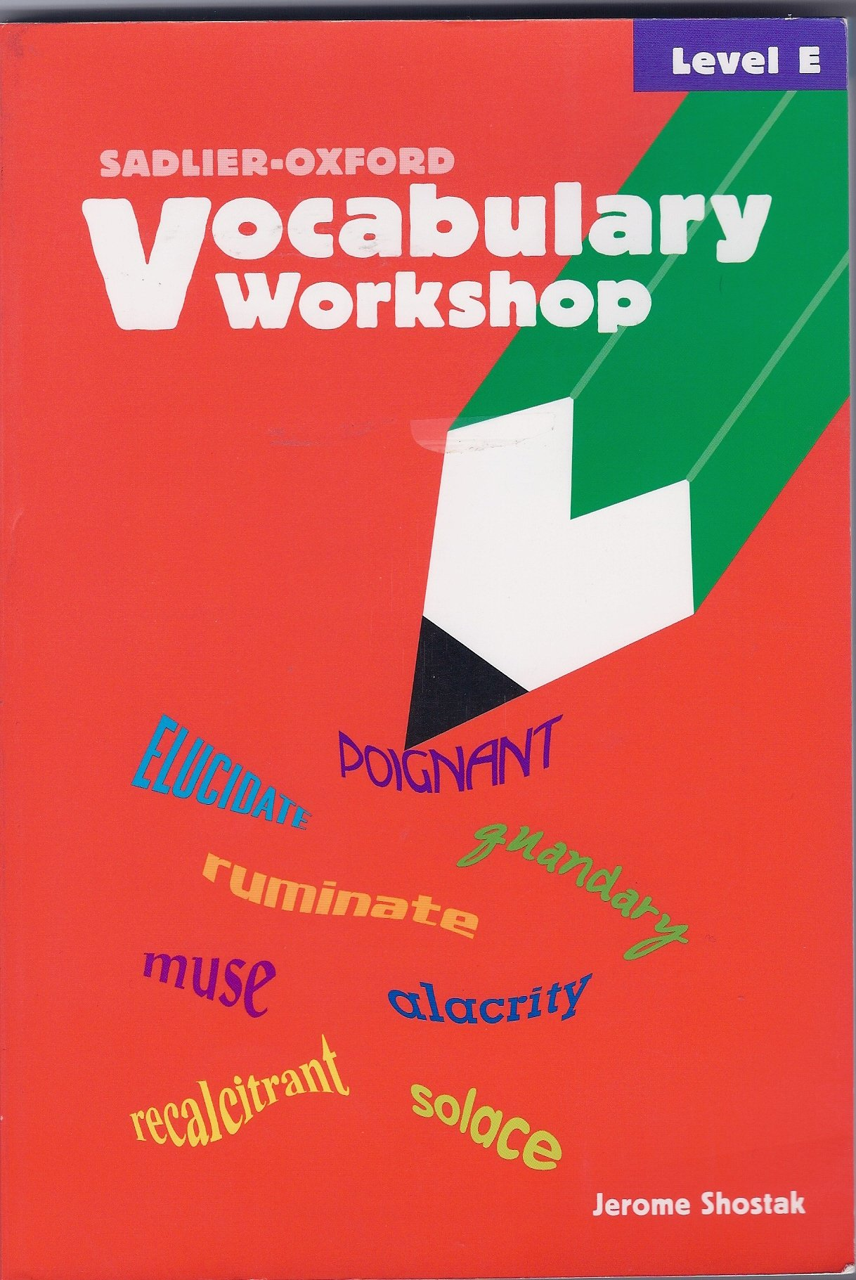 Download Vocabulary Workshop: Level E pdf epub