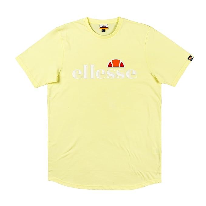 Ellesse Hombre Camiseta Balansat, Amarillo