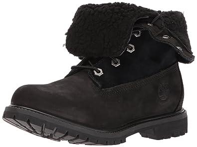 Coupon Timberland Teddy Fleece Fold Down Boots Damen Dark