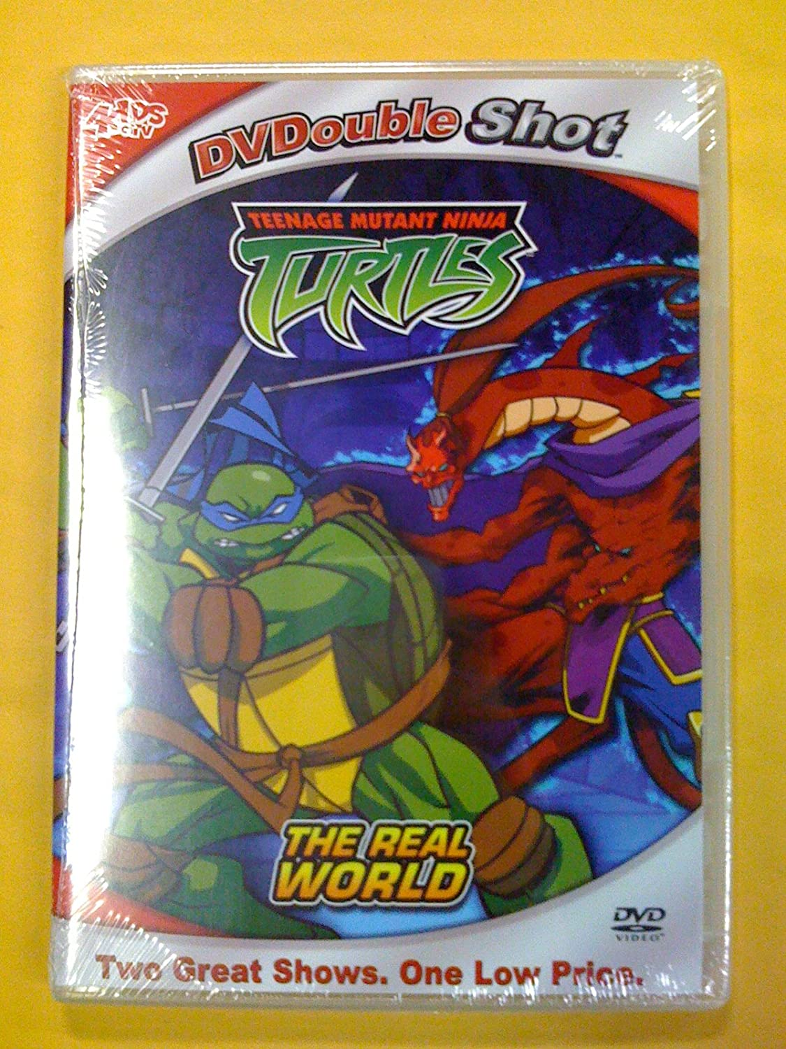 Teenage Mutant Ninja Turtles: The Real World USA DVD: Amazon ...