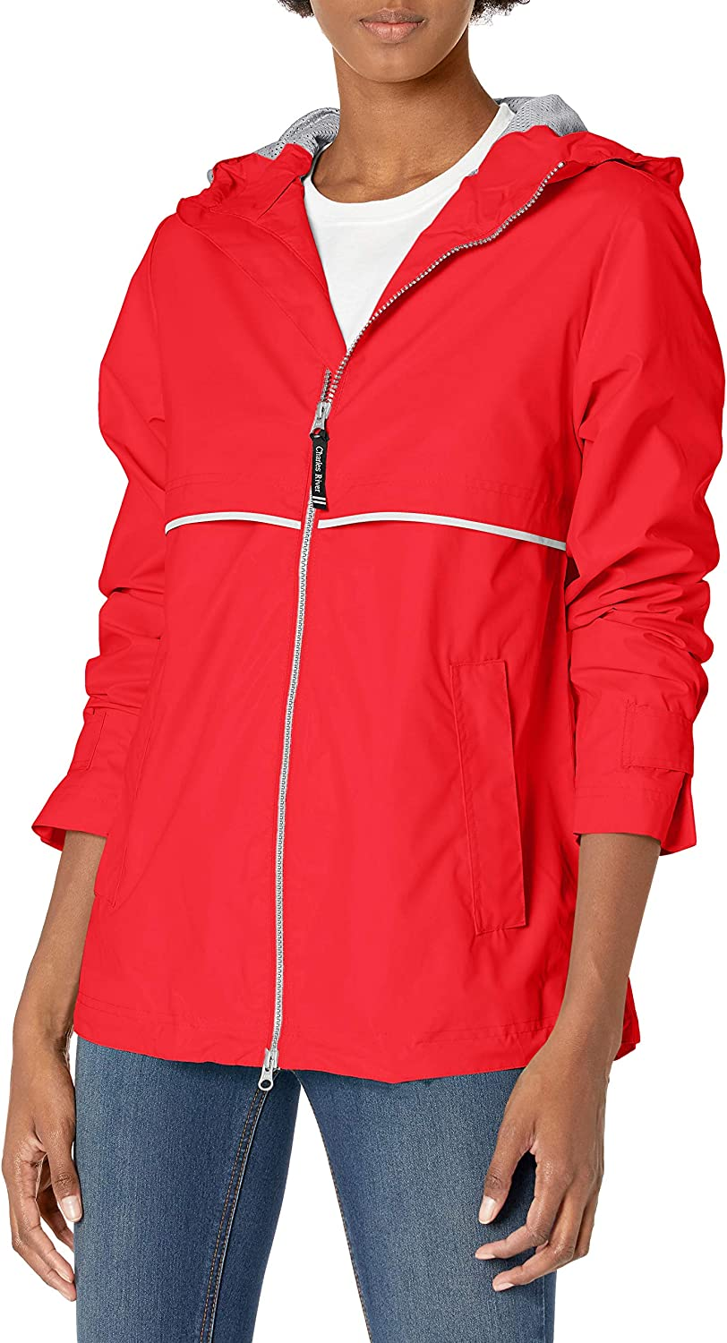 Charles River Apparel womens New Englander Wind & Waterproof Rain Jacket