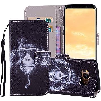 Tifightgo - Funda de piel con tapa para Samsung Galaxy S10 ...