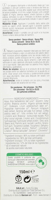 Santiveri Migliovita Balsamo Bio 150 ml - 100 g: Amazon.es: Alimentación y bebidas