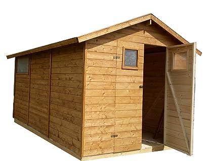 CADEMA - Casa de madera para jardín, 2,7m x 3