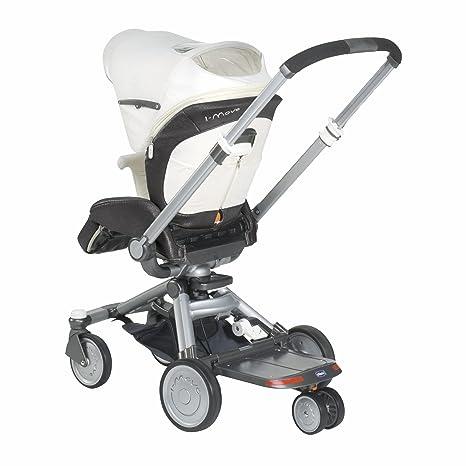 Chicco 07079385470000 I-Move - Tabla con ruedas para enganchar en carrito (a partir
