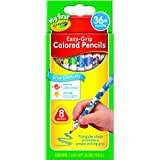 Crayola; My First Crayola; Easy-Grip Colored Pencils; Art Tools; 8 Count; Designed for Toddlers