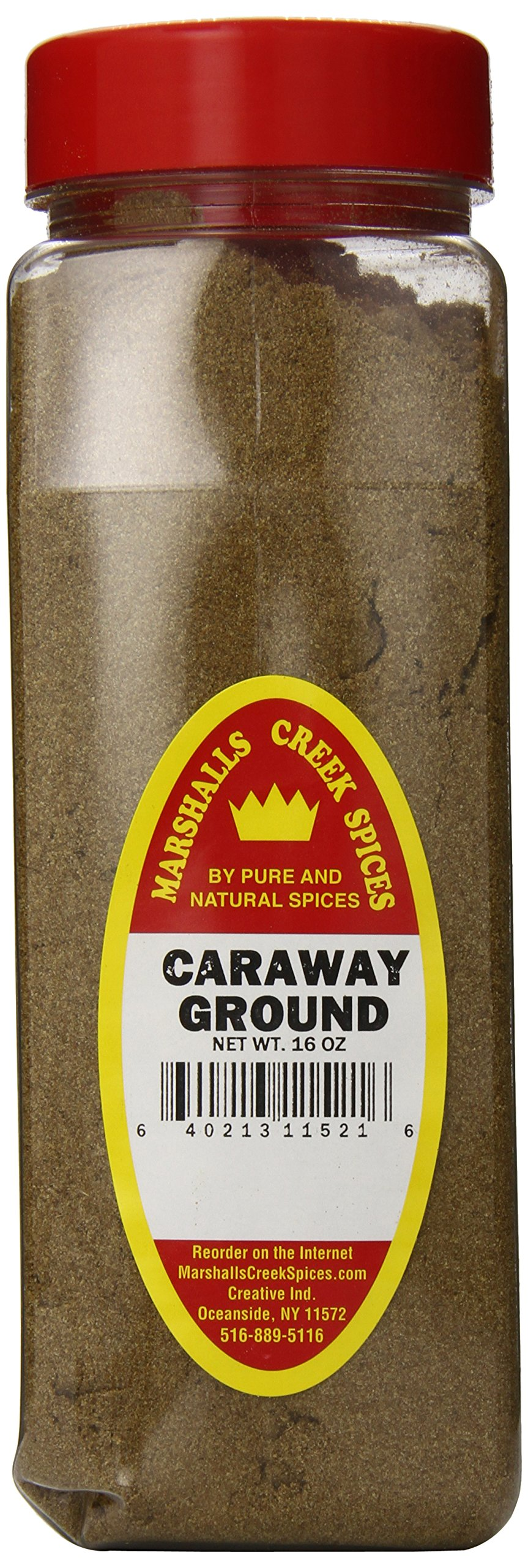 Marshalls Creek Spices Caraway Seed Seasoning, Ground, XL Size, 16 Ounce by Marshall's Creek Spices (Image #1)