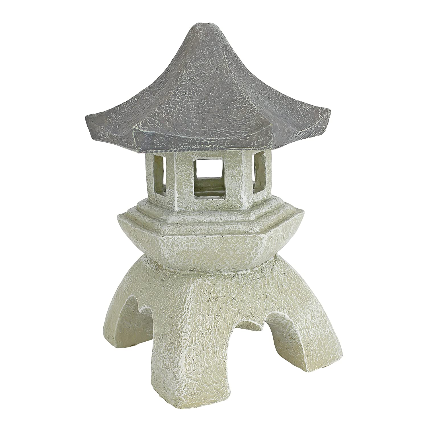 Japanese Pagoda Lantern Sculpture, Medium