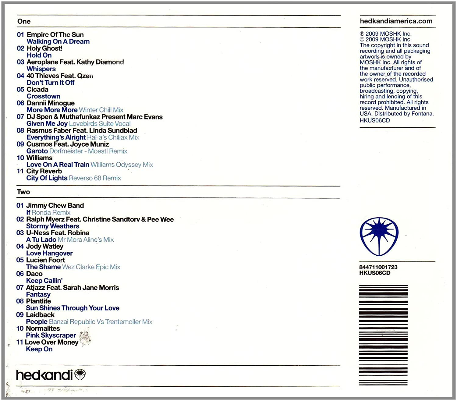 Various artists hed kandi: served chilled electronic summer.