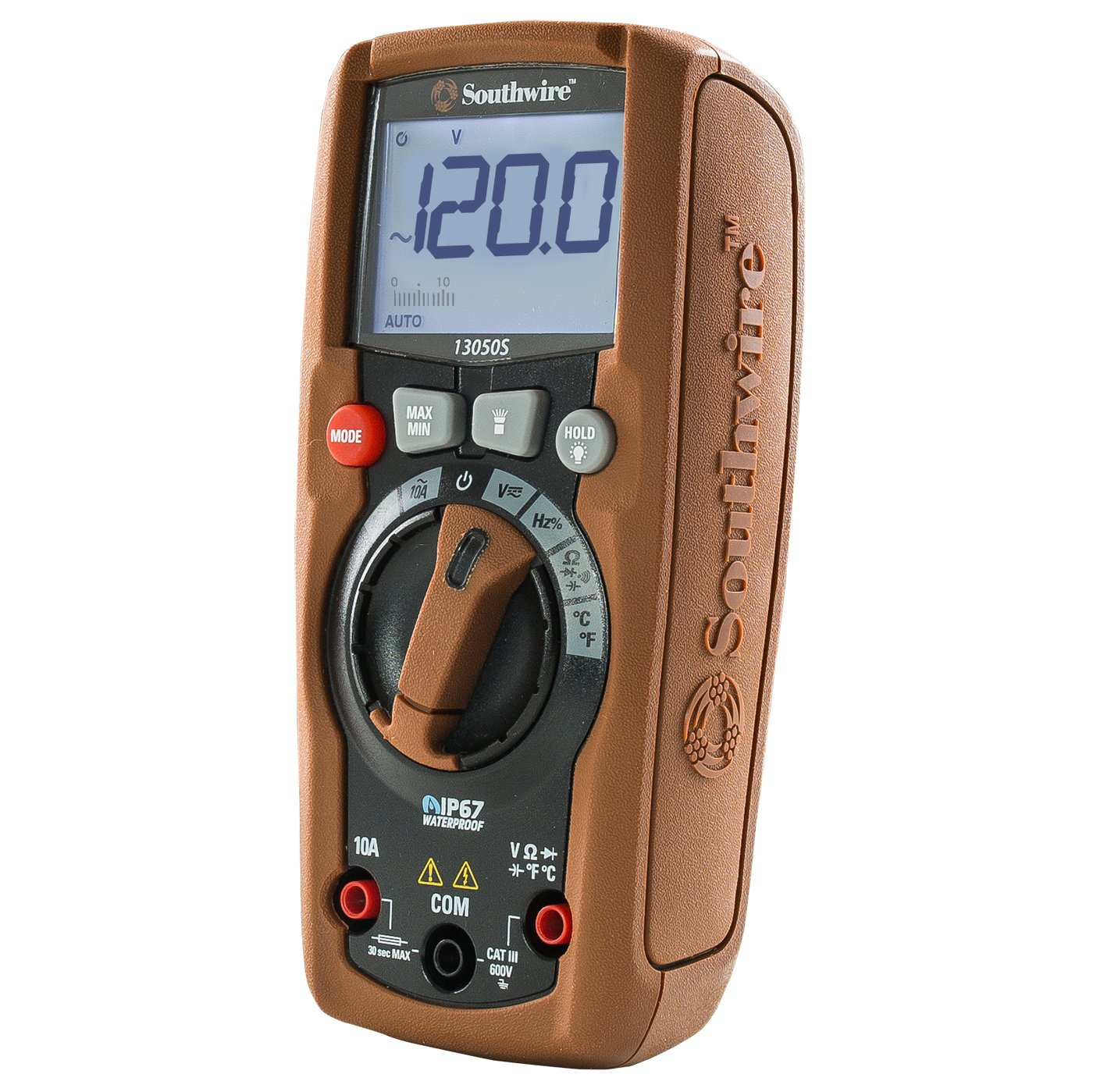 Southwire Tools & Equipment 13050S ResidentialPRO Auto-Ranging Digital Multimeter, 11 Measuring Functions