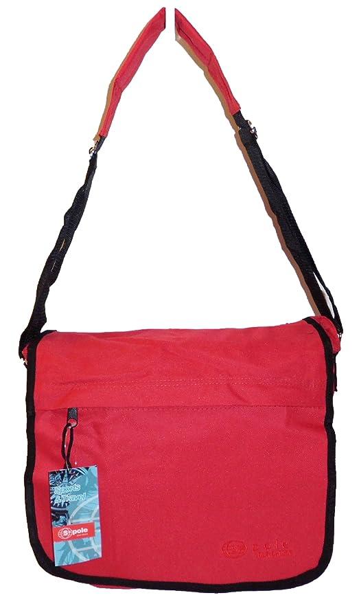 MP International BV S-Pole Women s Cross-Body Bag red RED 28x24x10   Amazon.co.uk  Luggage 10d2b2f46cfc4