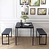 Dining Room Table Set, 3 Pieces Farmhouse...