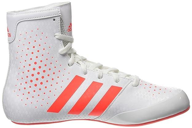 Unisex Adults Ko Legend 16 2 Boxing Shoes, White (White/Coral), 3.5 UK 36 EU adidas
