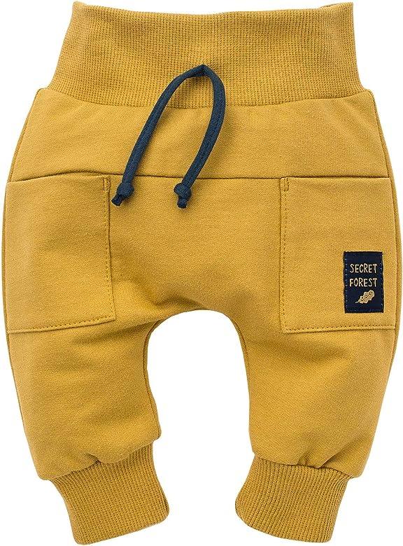 Pinokio - Secret Forest - Baby Niños Bebé Unisex Pantalones Leggings Pants Amarillo 100% Algodón Pantalón 62-104 cm (62 cm, Amarillo): Amazon.es: Ropa y accesorios