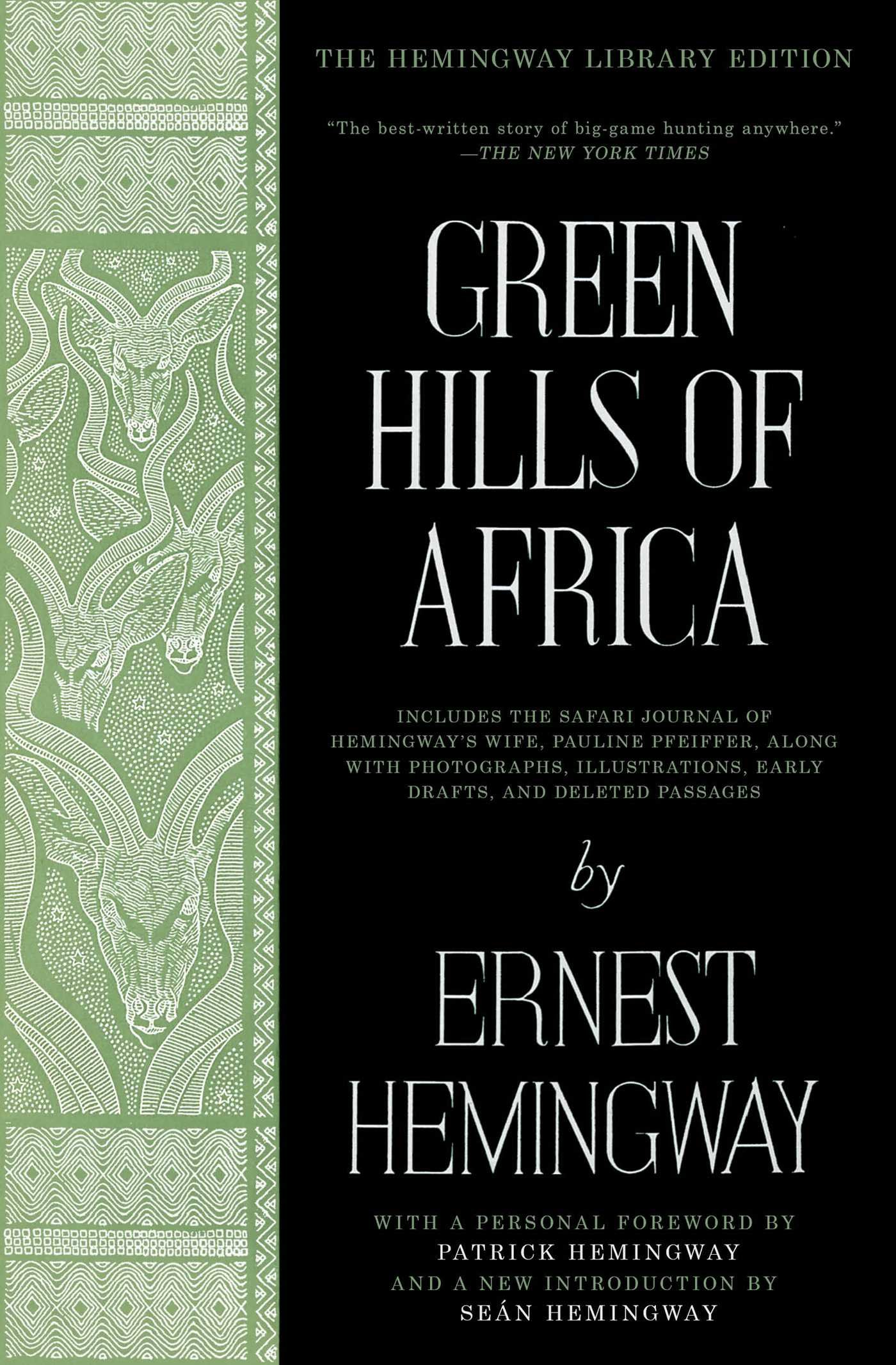 Download Green Hills of Africa: The Hemingway Library Edition pdf