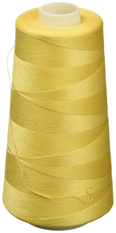Coats Sure Lock Overlock Thread 3,000 yd. Yellow, Acrylic, Multicoloured, 3-Piece 6110.7330000000002