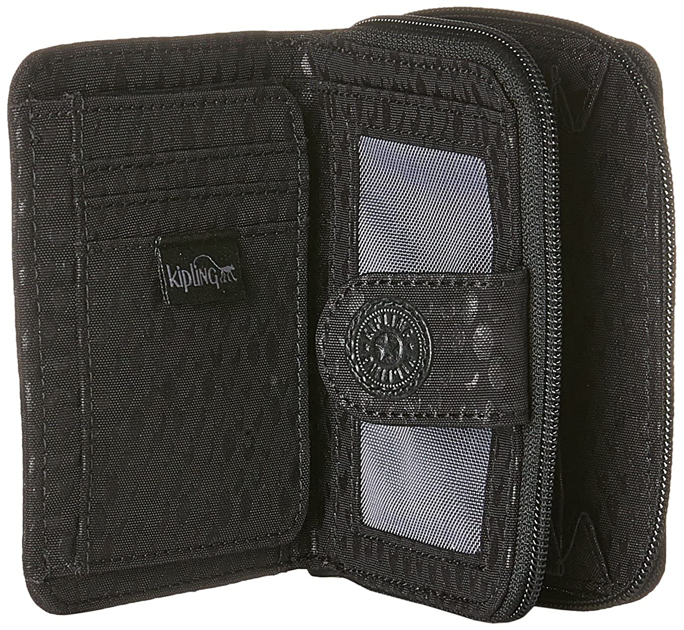 Amazon.com: Kipling New Money, Womens Wallet, Schwarz (Black Scarlet Emb), 9.5x12.5x0.1 cm (B x H T): Shoes