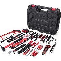Haushalt Werkzeugkoffer, Meterk 170-teilig Werkzeug Set ideal für den Haushalt oder die Garage, Werkzeugset Ideal Weihnachtsgeschenk für Bastler Handwerker