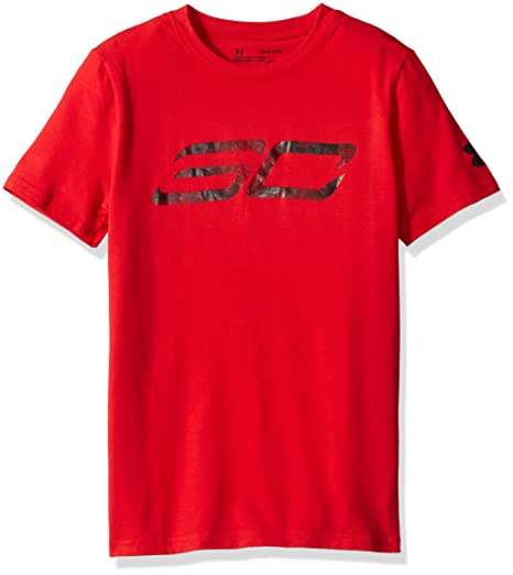 e558948957 Under Armour Boys' sc30 Logo Short Sleeve tee