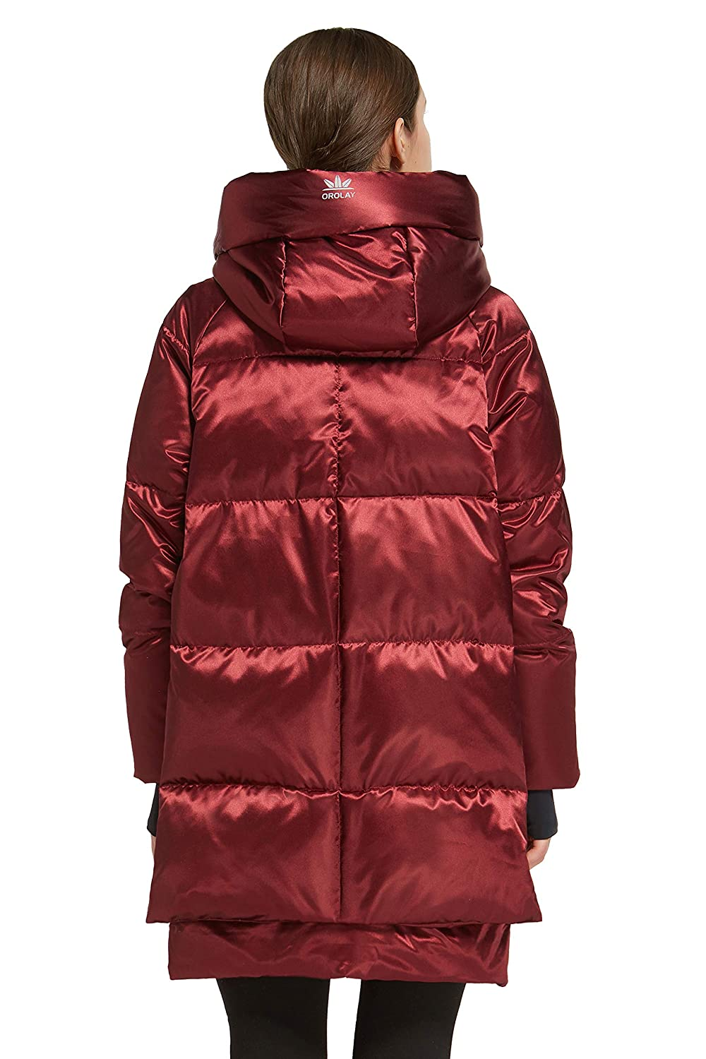 Orolay Womens Thickened Hooded Down Jacket