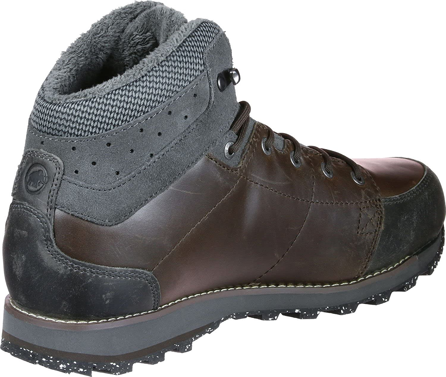 US 8 3020-05840-7079-US 8 Mammut Chamuera Mid Waterproof Hiking Boot Mens Coffee-Graphite
