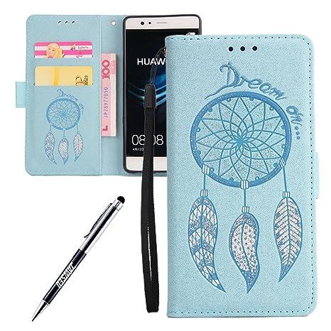 Funda Huawei P9, Carcasa Huawei P9, JAWSEU Huawei P9 Tapa ...