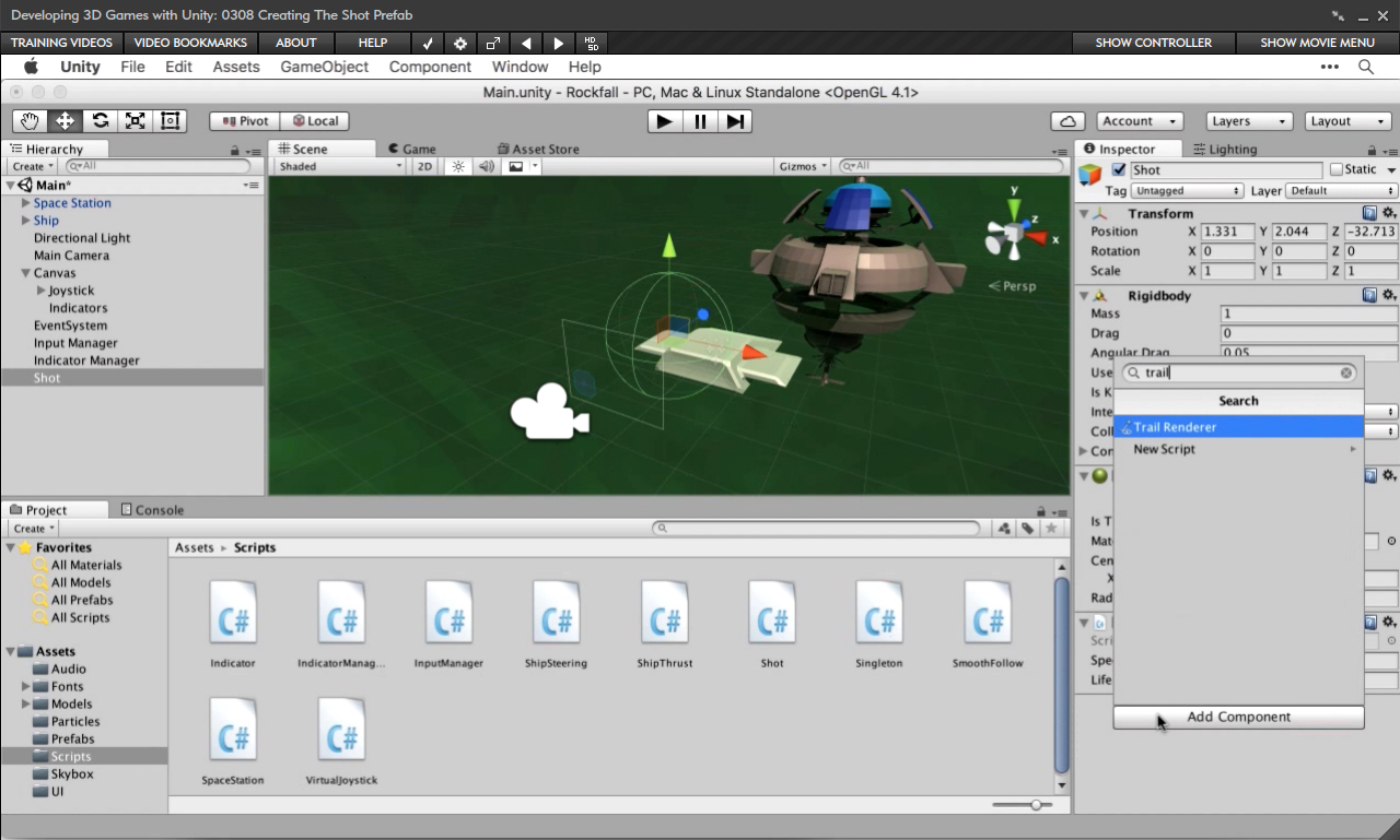 Amazon com: Developing 3D Games with Unity [Online Code]: Software