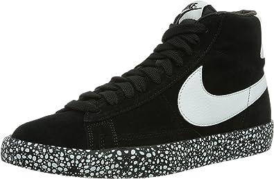 Nike Blazer Mid Vintage, Basket Homme Noir Noir, 47.5 EU