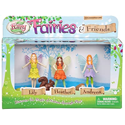 My Fairy Garden Fairies and Friends Figurines: Toys & Games